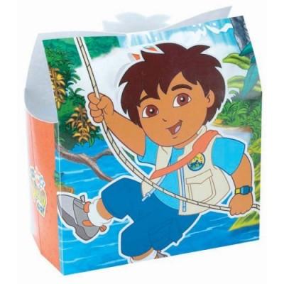 Go Diego Go Treat Box ~ Set of 6 Treat Boxes