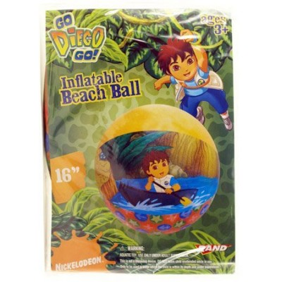 Go Diego Go Inflatable 16 Inch Beach Ball