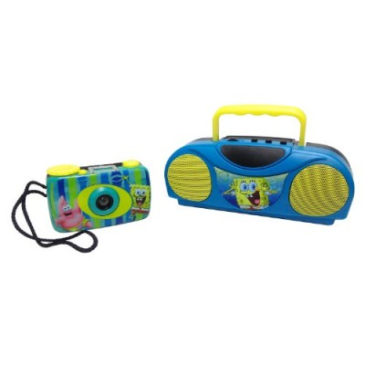 Sponge Bob Squarepants Camera & Radio Box Set