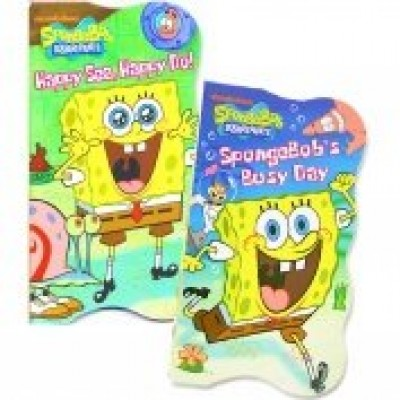 SpongeBob SquarePants Shaped Board Books (Set of 2)
