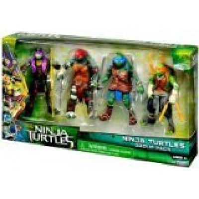 Teenage Mutant Ninja Turtles Movie Action Figure Set, Ninja Turtles Group Pack