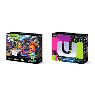 Nintendo Wii U 32GB Splatoon Deluxe Set - Black