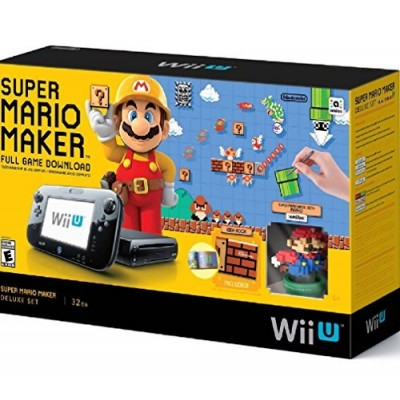Nintendo Wii U Super Mario Maker Console Deluxe Set