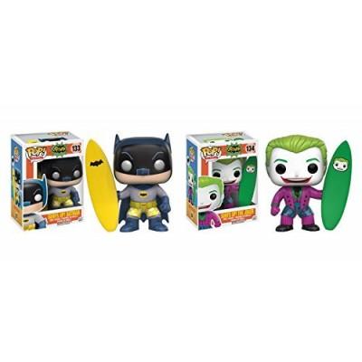 Funko POP DC Classic TV: Surfs Up Batman and Surfs Up Joker - 2 Piece BUNDLE