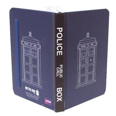 Doctor Who TARDIS Mini Journal