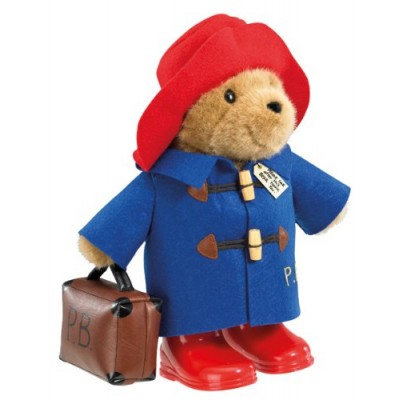 Paddington Bear - Classic Bear Free Standing with Case (33cm) by ToyLand