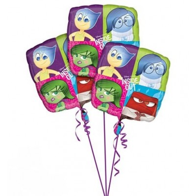 Inside Out Balloons ~ 3ct
