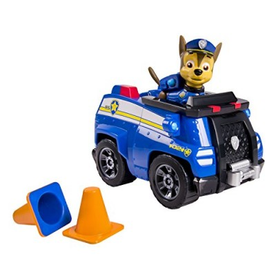 Nickelodeon, Paw Patrol - Chase's Cruiser (works with Paw Patroller)