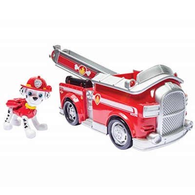 Nickelodeon Paw Patrol Marshall's Fire Fightin' Truck (works with Paw Patroller)