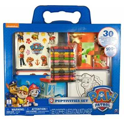 Paw Patrol Puptivities Activity Set with Crayons Stickers Over 26 Activities