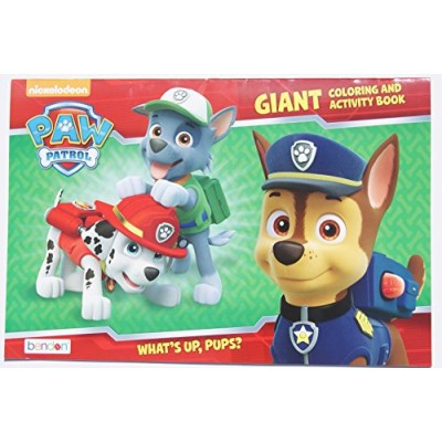 "Paw Patrol ""What's Up, Pups?"" Giant Coloring and Activity Book"