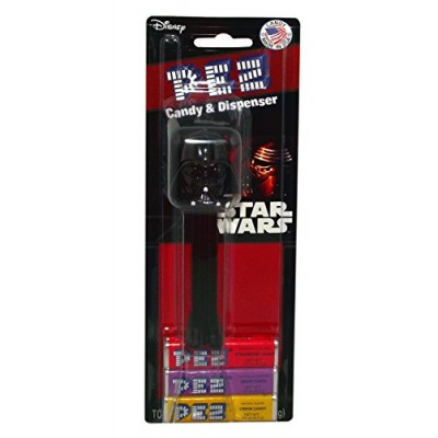 Disney Star Wars Episode 7 Pez Candy and Dispenser on Blister Card (Darth Vader)