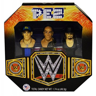 Pez WWE Gift Set Wrestlemania John Cena The Rock The Undertaker