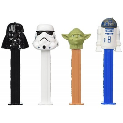 STAR WARS Pez Dispensers (Pack of 12)