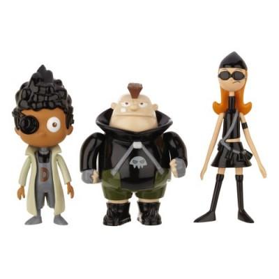 Phineas And Ferb Figure Pack Assortment 5 - DCOM Candace, Baljeet, Beauford (Resistance Team)