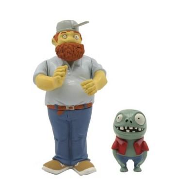 "Plants vs Zombies Crazy Dave 3"" Action Figure with Imp"