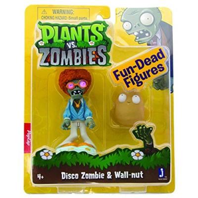 Plants vs Zombies Figures 3'' Disco Zombie with Walnut