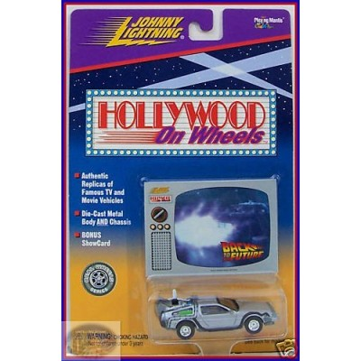 Johnny Lightning Back to the Future Hollywood on Wheels