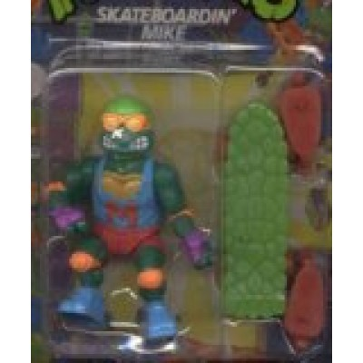 "1991 Playmates Teenage Mutant Ninja Turtles "" Skateboardin "" Mike"