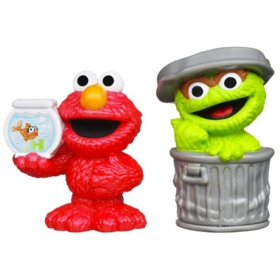 Playskool Sesame Street Figures 2-Pack - Oscar and Elmo