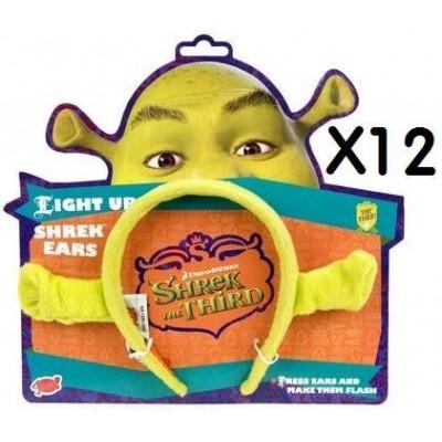 Pms Gosh 12x Pairs Of Quality Shrek Ears, Dreamworks Shrek The Third 3, Ideal For Party Bag