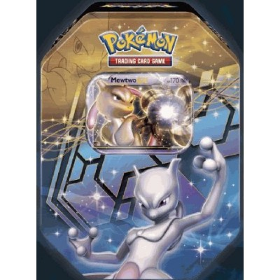 2012 Pokemon Dragons Exalted Mewtwo-EX Legendary Collector's Tin - Pokemon Black & White