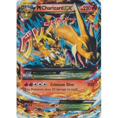 Mega/M Charizard EX (XY Flashfire #13/106) Rare/Holo-Foil Pokemon Card