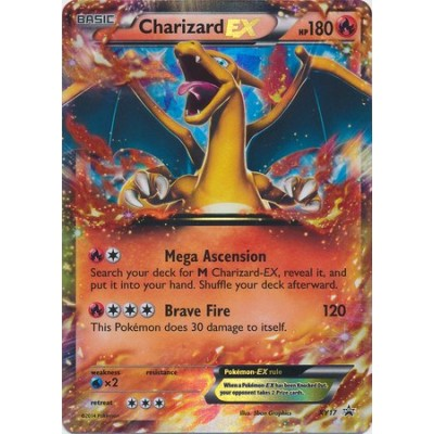 Pokemon - Charizard EX (17) - Pokemon Promos - Holo