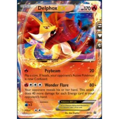 Pokemon - Delphox (19) - XY Black Star Promos - Holo