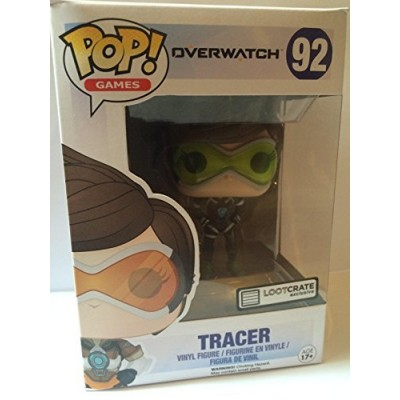 Funko Pop! Overwatch Tracer Figure #92 Loot Crate Gaming June 2016 Exclusive