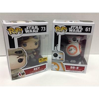 Funko POP! Star Wars BB-8 / Rey HT Exclusive Bundle