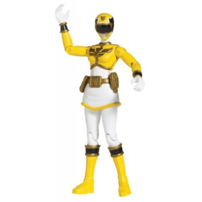 Power Rangers Megaforce Action Figure Yellow Ranger, 4 Inch