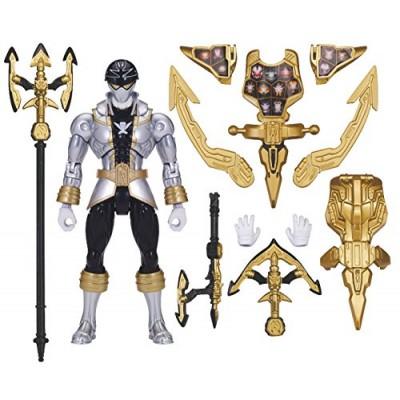 Power Rangers Super Megaforce - Armored Super Mega Silver Ranger Action Figure