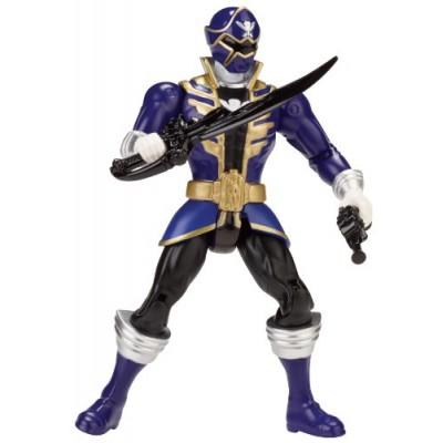 Power Rangers Super Megaforce - Blue Ranger Action Hero, 5-Inch
