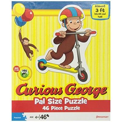 Curious George Pal Size Puzzles