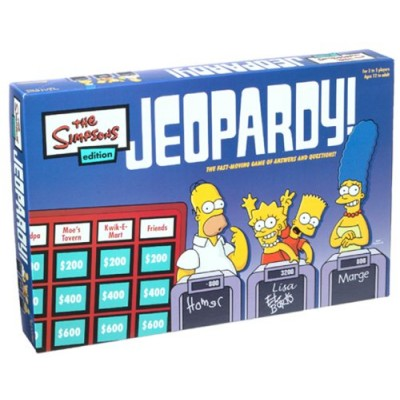 Jeopardy Game Simpsons Edition