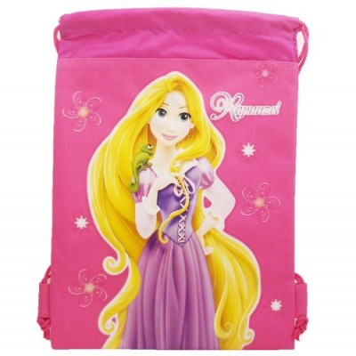 Disney Tangled Draw String Backpack Bag