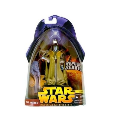 Star Wars E3 Revenge of the Sith Action Figure #40 Mas Amedda (Republic Senator) by Puzzle Zoo