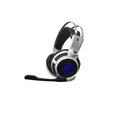 Pyle PGPHONE80 - Professional PC Gaming Headset with Mic - USB Headphones and Microphone for Windows Mac Computer Games - 7.1 Virtual Surround Soun...