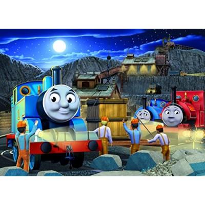 Thomas & Friends Night Work Glow-in-The-Dark Puzzle, 60-Piece