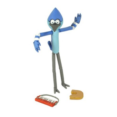 "Regular Show Mordecai 5"" Action Figure with Accessories"