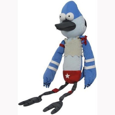Regular Show Wrestling Buddy Mordecai 20 inch with Sound Plush