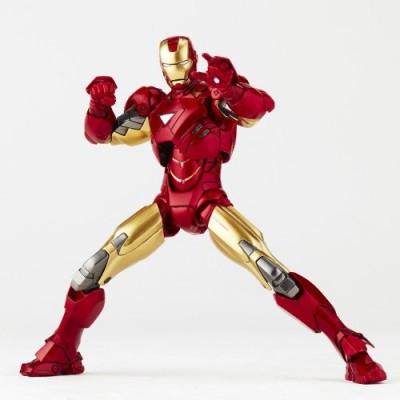 Iron Man Revoltech SciFi Super Poseable Action Figure Iron Man
