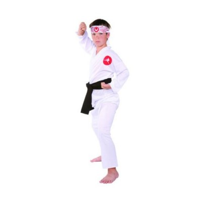 RG Costumes Karate Boy Costume, White, Large