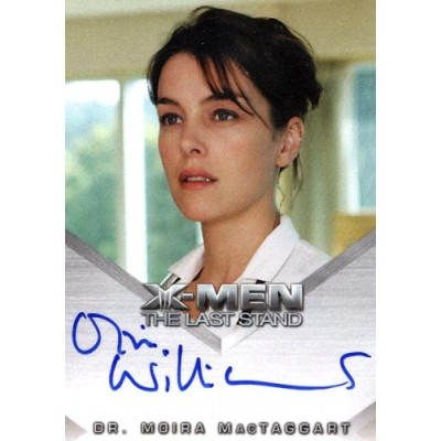 "X-Men 3: The Last Stand - Olivia Williams ""Dr. Moira MacTaggart"" Autograph Card"
