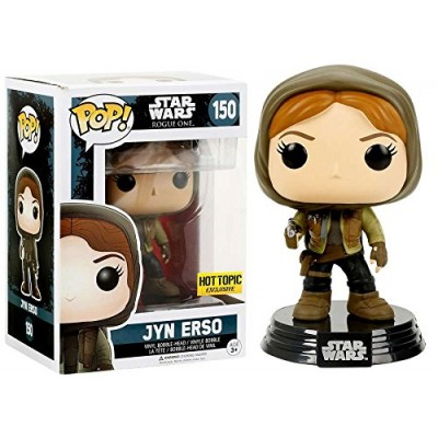 Funko Pop Star Wars: Rogue One Jyn Erso Hot Topic Exclusive Vinyl Figure