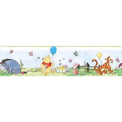 RoomMates RMK1638BCS Winnie the Pooh Toddler Peel & Stick Border