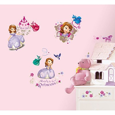 RoomMates RMK2294SCS Sofia The First Peel and Stick Wall Decals