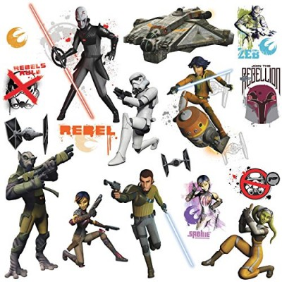 RoomMates RMK2622SCS Star Wars Rebels Peel and Stick Wall Decals