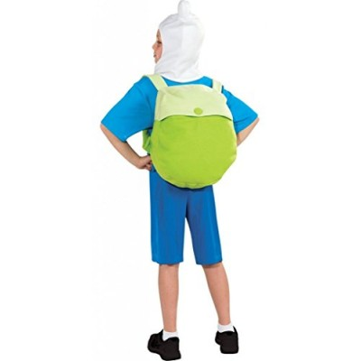 Adventure Time Child's Deluxe Finn Costume, Large